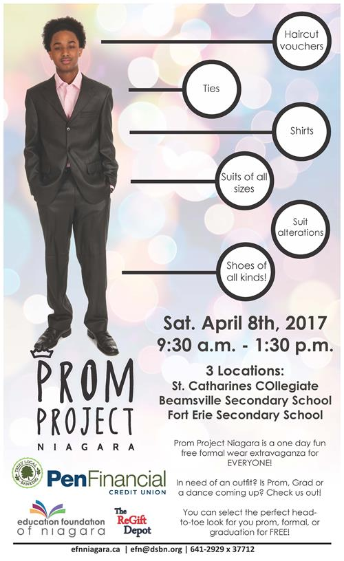 Prom Project Poster 2017 Male